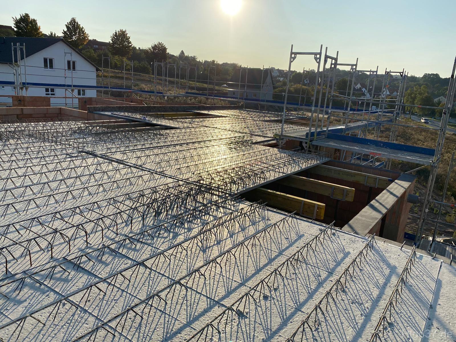 Baufortschritt Reinhausen Eigentumswohnungen Aussicht