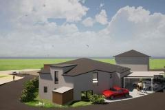 Mehrfamilienhaus Ansicht Nord