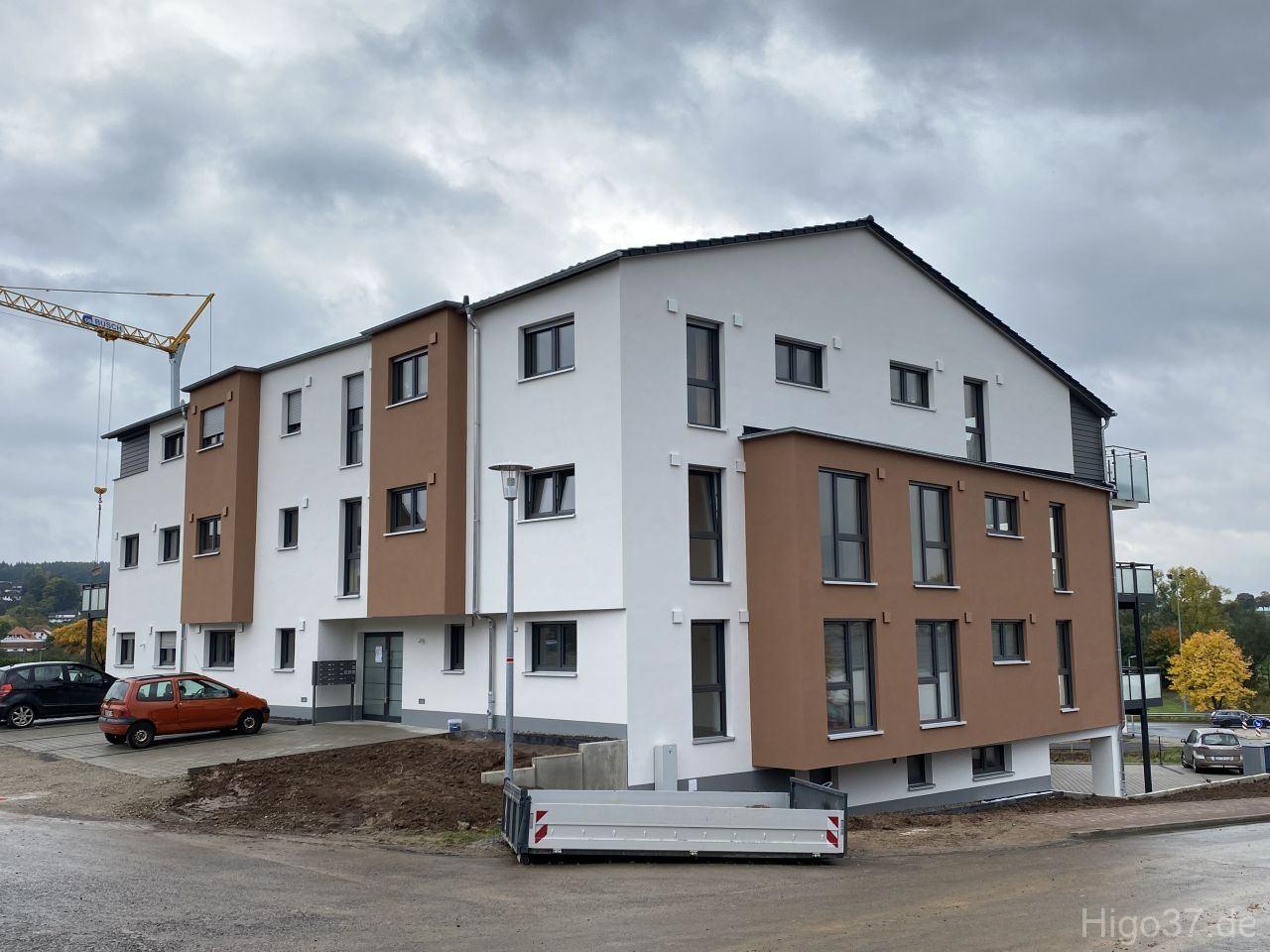 Neubau Mehrfamilienhaus mit 12 WE in Reinhausen 2021