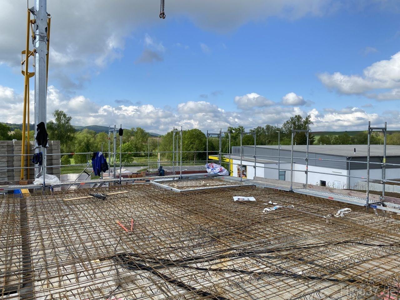 Baufortschritt Neubau 4 Wohnungen Gleichen Reinhausen