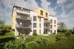 Neubau Am Mensing 10 Reinhausen Ansicht Süd West