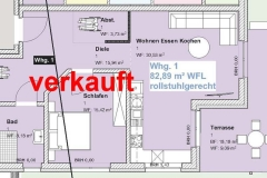 Grundriss Eigentumswohnung Reinhausen