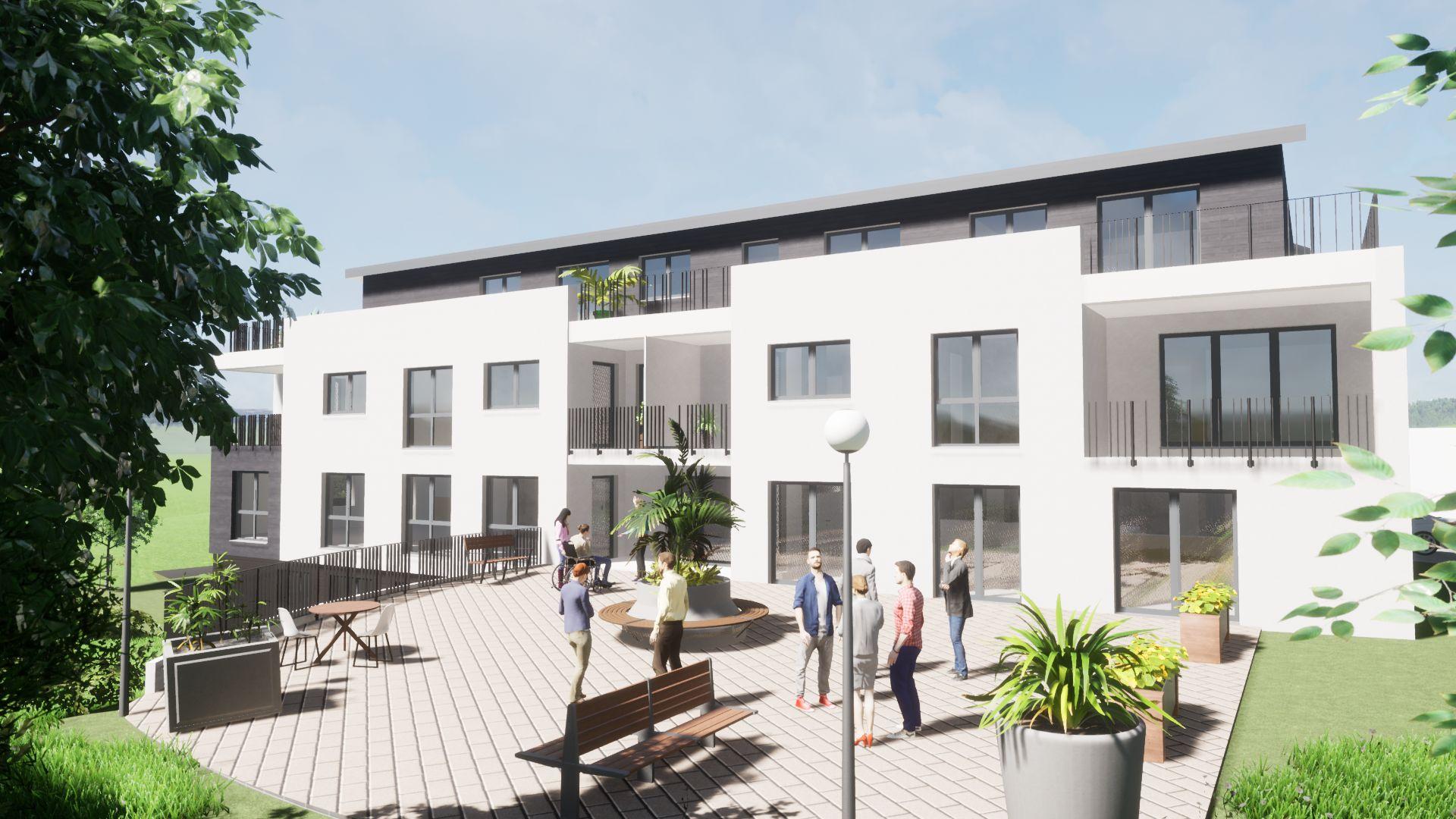 Geschäftshaus mit 8 Wohneinheiten Reihnhausen Neubau
